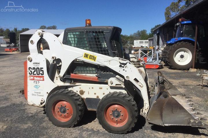Bobcat S205 Construction equipments for Sale in Australia