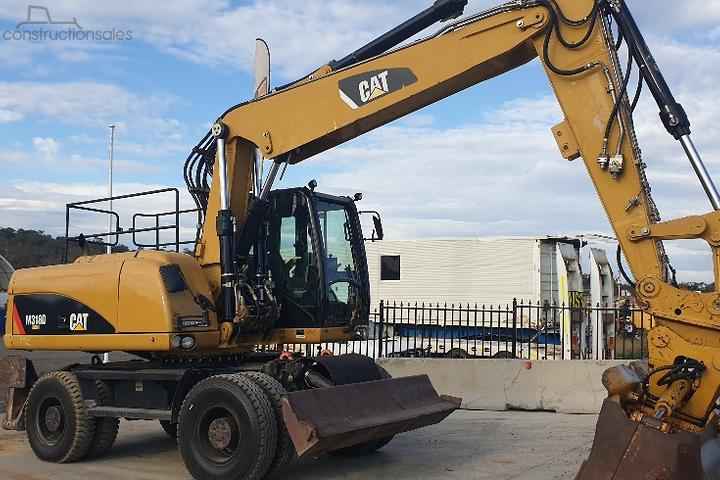Wheeled Excavators for Sale in Australia - constructionsales