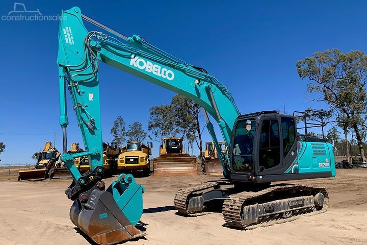 Kobelco Construction equipments for Sale in Australia
