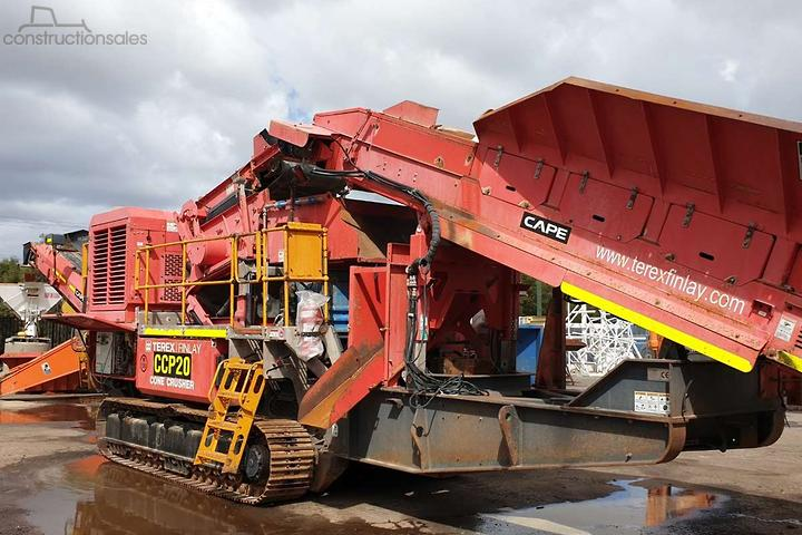 Terex Finlay Construction equipments for Sale in Australia