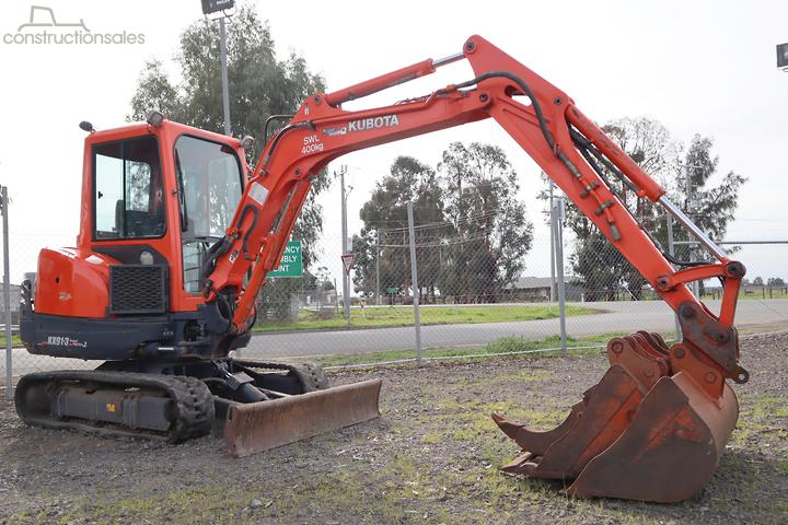 Kubota Construction equipments for Sale in Australia