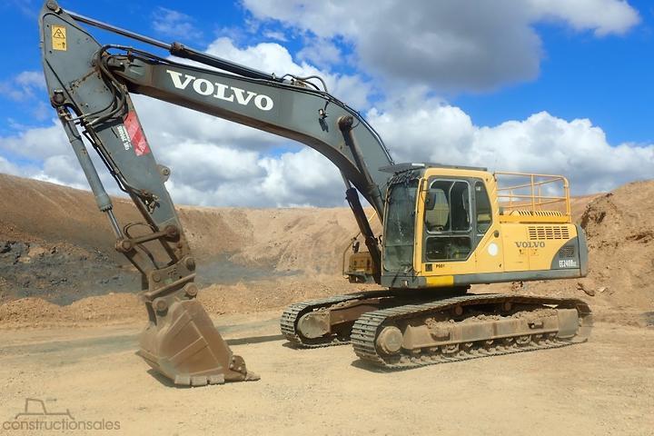 Volvo Excavators for Sale in Australia - constructionsales