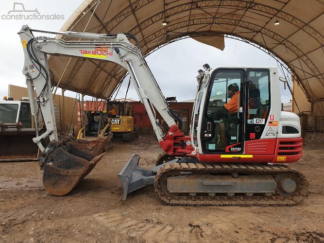 Takeuchi Construction equipments for Sale in Australia