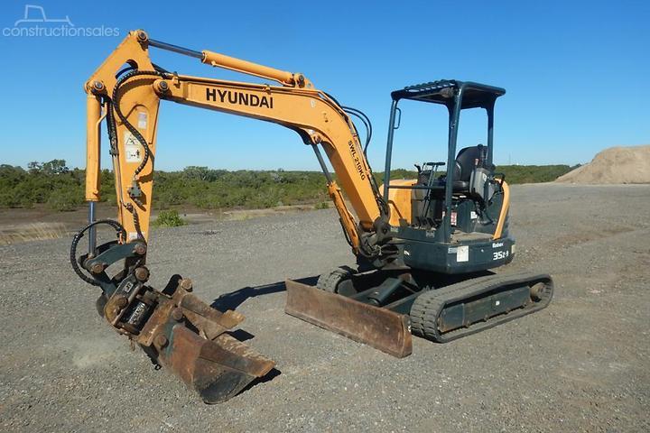 Hyundai R35Z 9 Construction equipments for Sale in Australia