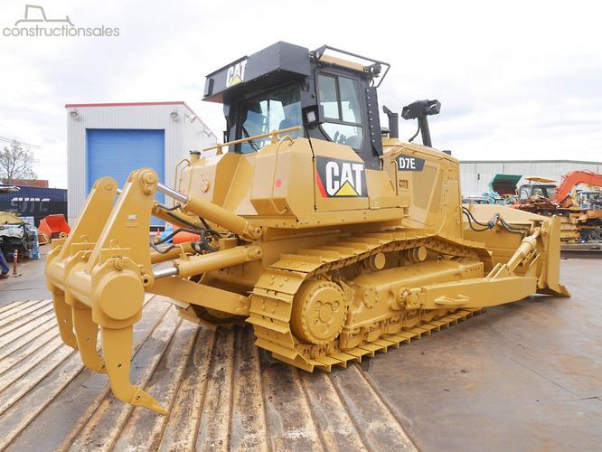 Caterpillar D7E Construction equipments for Sale in Australia