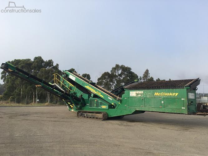 McCloskey Construction equipments for Sale in Australia