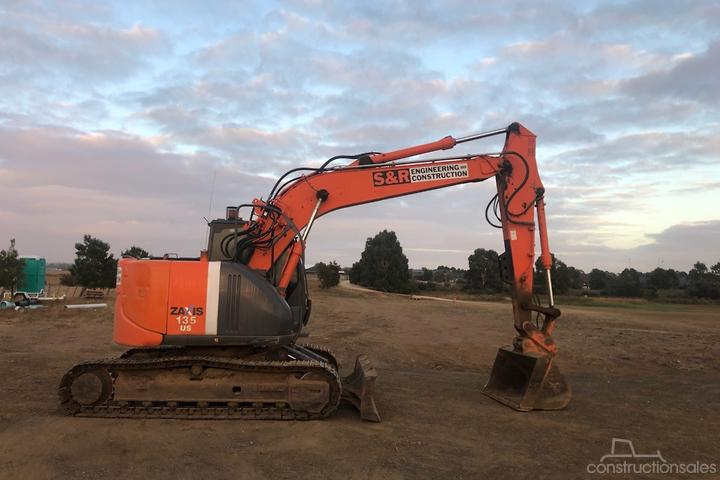 Hitachi ZX135US-3 Construction equipments for Sale in