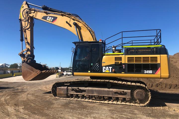 Caterpillar 349DL Construction equipments for Sale in Australia