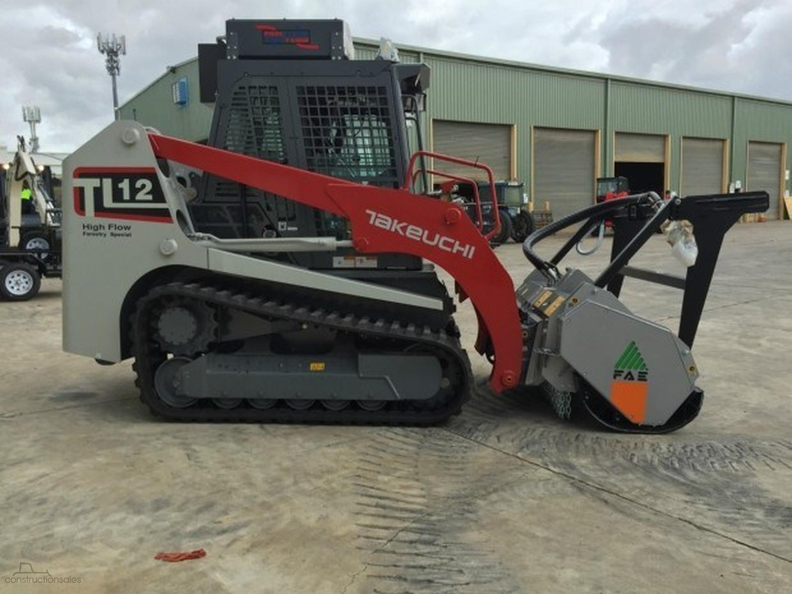 Takeuchi TL12 Forestry Special-OAG-AD-12534146