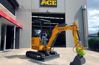 2019 ACE机械AE22 - 2.2T零摆,Q结飞行员CTRL,柱塞泵LS