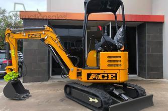 2019年ACE机械AE20K零摆,库博塔D1105,快速连接