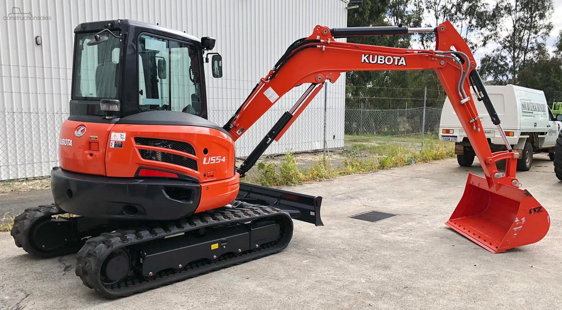2019 Kubota U55-4 Excavator-OAG-AD-16345910