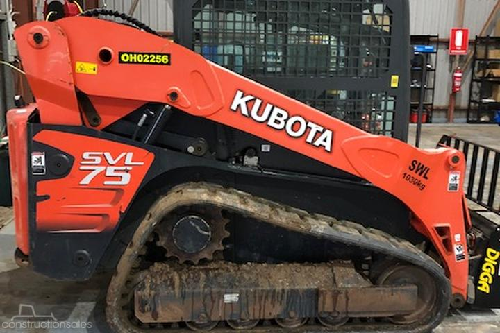 Kubota SVL75 Construction equipments for Sale in Australia