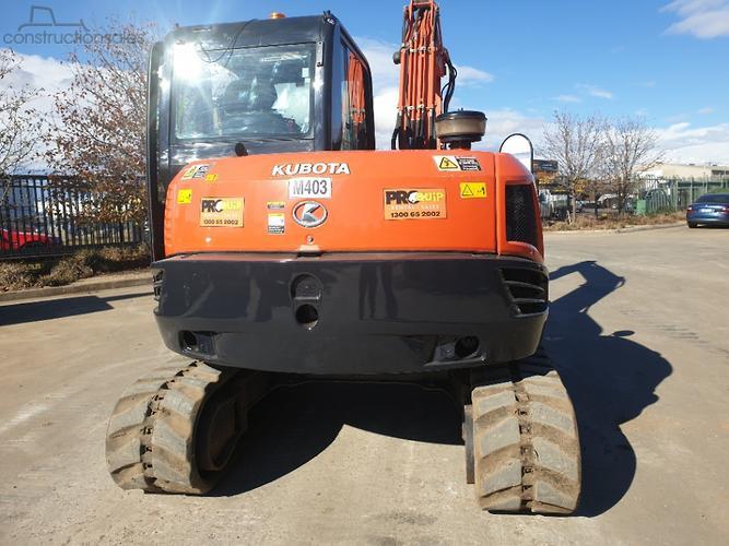 Kubota KX080 3 Construction equipments for Sale in Australia