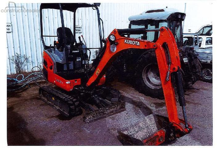 Kubota KX018 4 Construction equipments for Sale in Australia