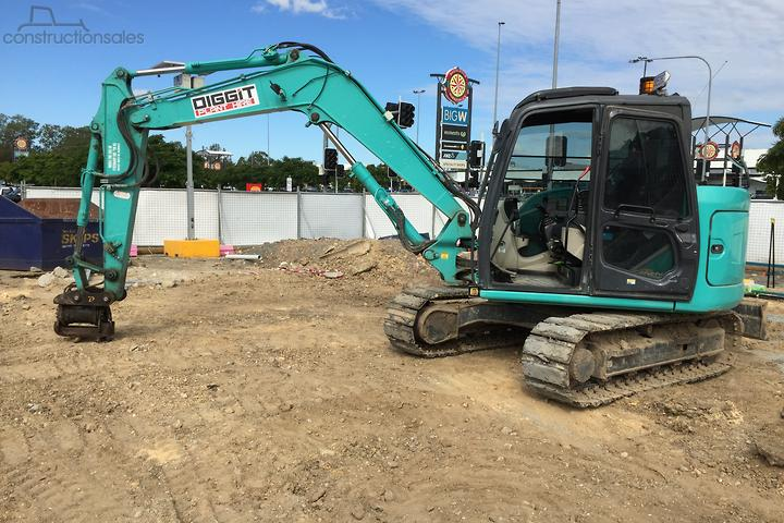 Kobelco SK85MSR 3 Construction equipments for Sale in Australia