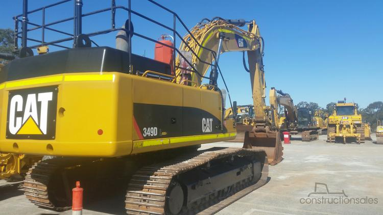 Caterpillar 349DL Construction equipments for Sale in Australia