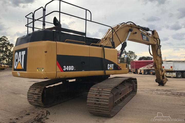 Caterpillar 349DL Construction equipments for Sale in