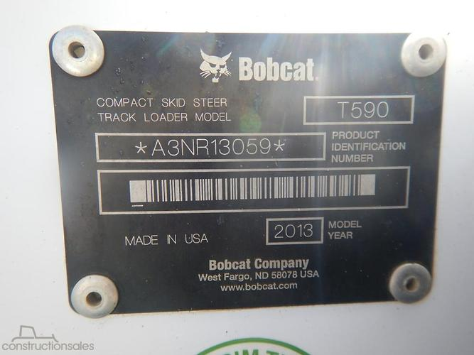 Bobcat T590 Construction equipments for Sale in Australia
