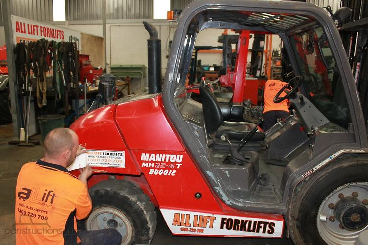 Manitou Construction equipments for Sale in Australia