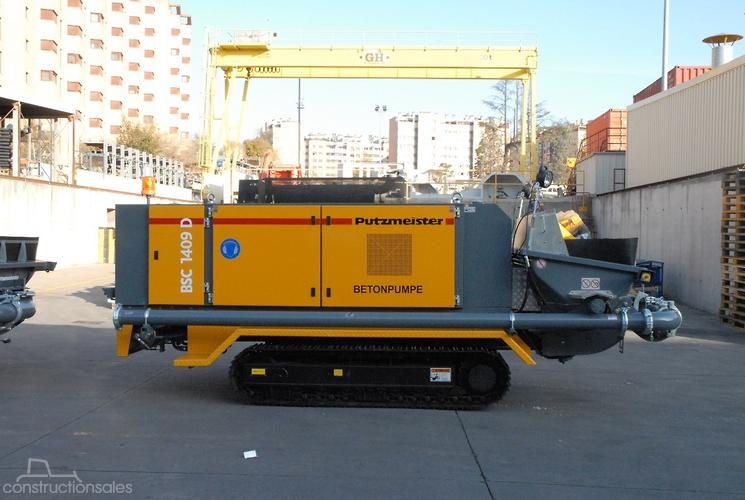 Putzmeister Construction equipments for Sale in Australia