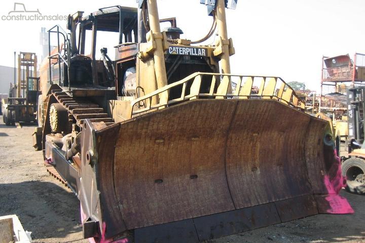 Caterpillar D8R II Construction equipments for Sale in Australia