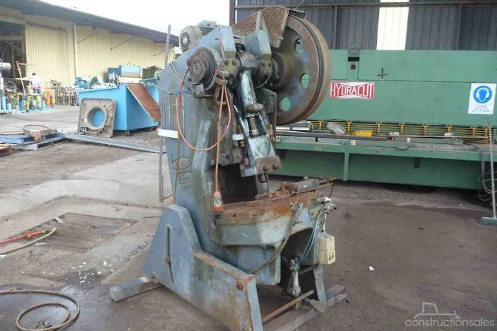 JOHN HEINE 30TON INCLINABLE PRESS Punch Presses Punch Presses for