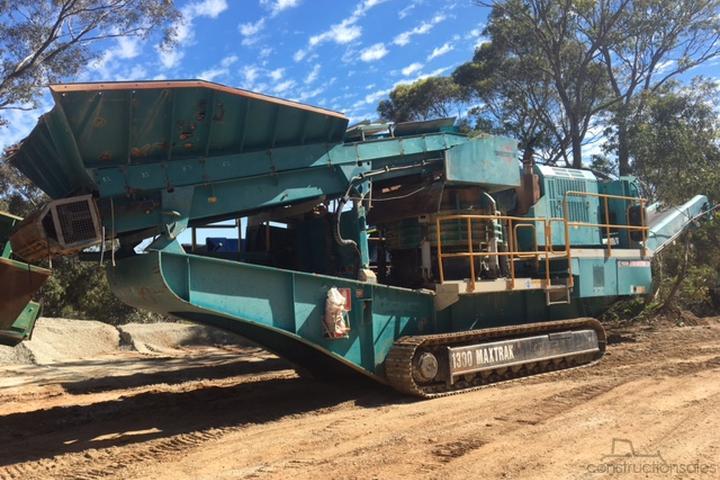 Powerscreen Construction equipments for Sale in Australia