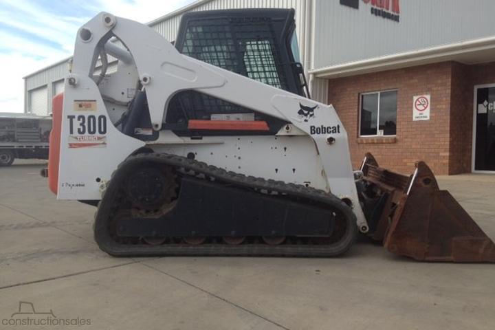 Bobcat T300 Construction equipments for Sale in Australia