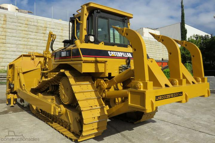 Caterpillar D6R XL Dozer Four Barrel Rippers Construction equipments