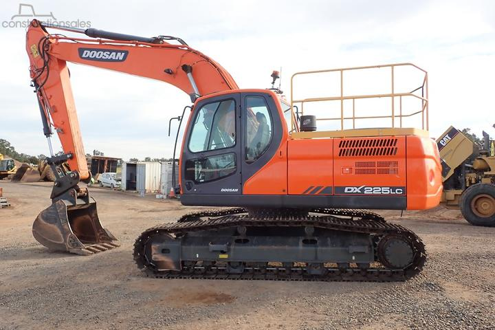 Doosan Construction equipments for Sale in Australia