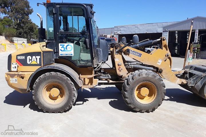 Caterpillar 908H Construction equipments for Sale in Australia