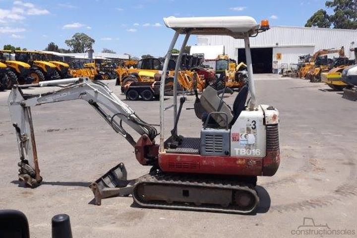 Takeuchi Construction equipments for Sale in Australia