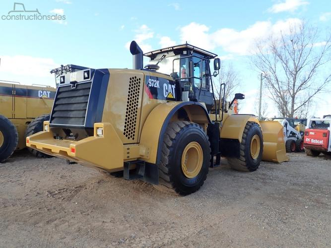 Caterpillar 972K Construction equipments for Sale in