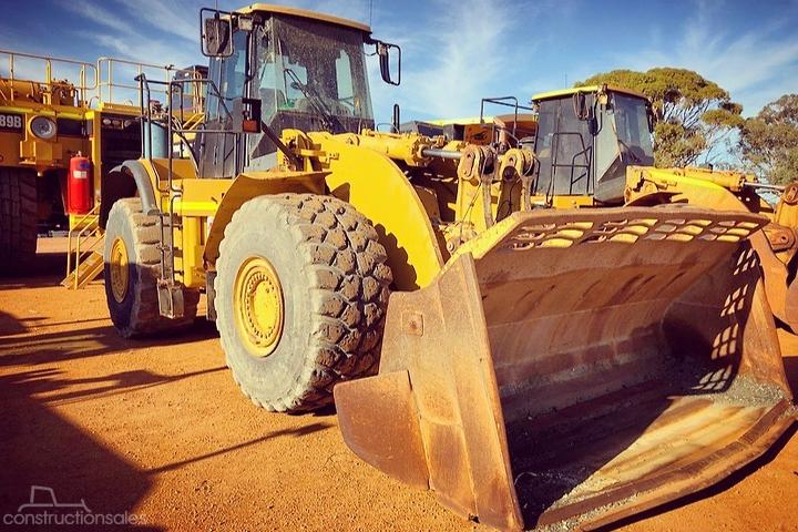 Caterpillar 980H Construction equipments for Sale in