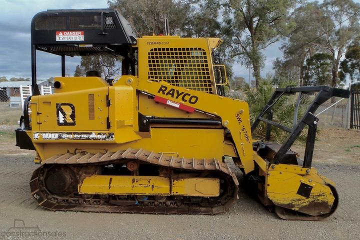 Rayco Construction equipments for Sale in Australia