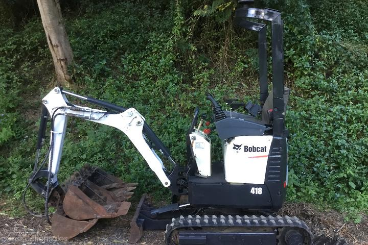 Bobcat 418 with attachments Construction equipments for Sale in