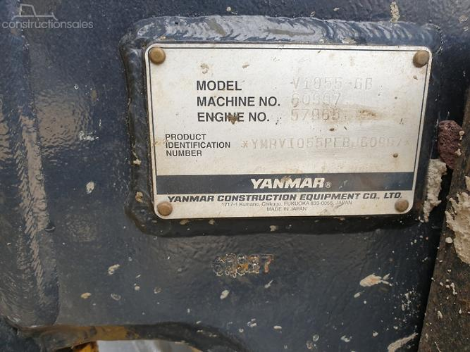 Yanmar Construction equipments for Sale in Australia