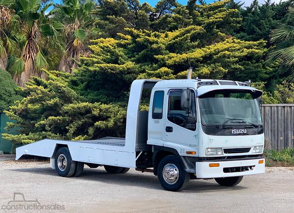Isuzu FFR500 CAR CARRIER Beavertail Trucks for Sale in