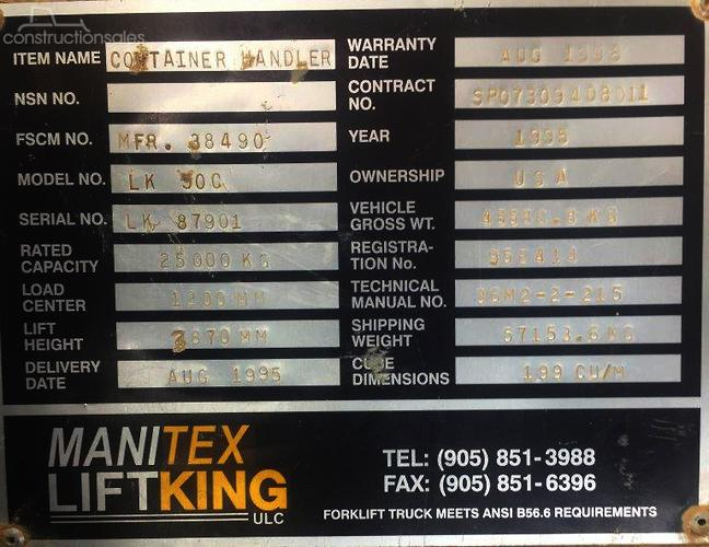 Lift King Construction equipments for Sale in Australia