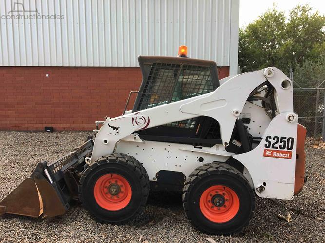 Bobcat S250 Construction equipments for Sale in Australia