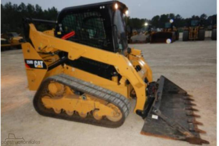 Caterpillar 259D Construction equipments for Sale in