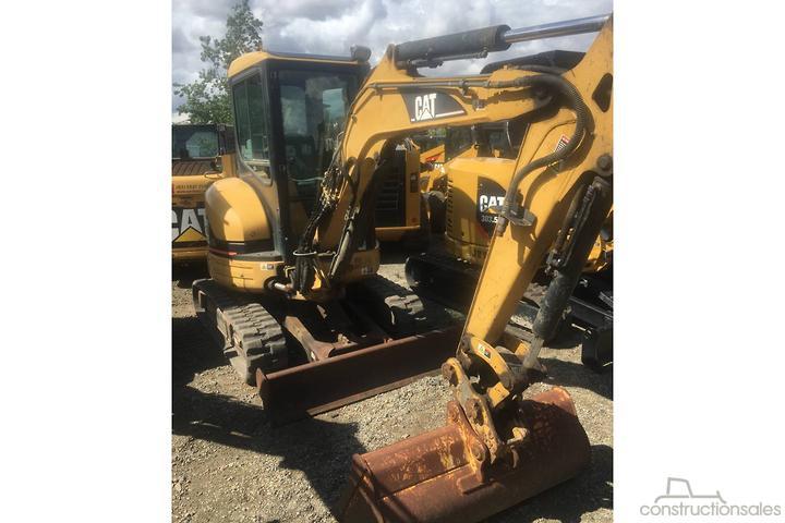 Caterpillar 303CR Construction equipments for Sale in Australia