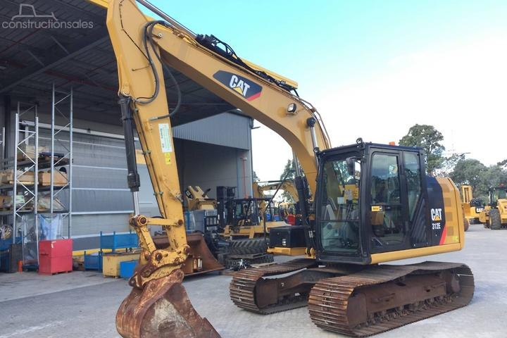 Caterpillar 312E Construction equipments for Sale in