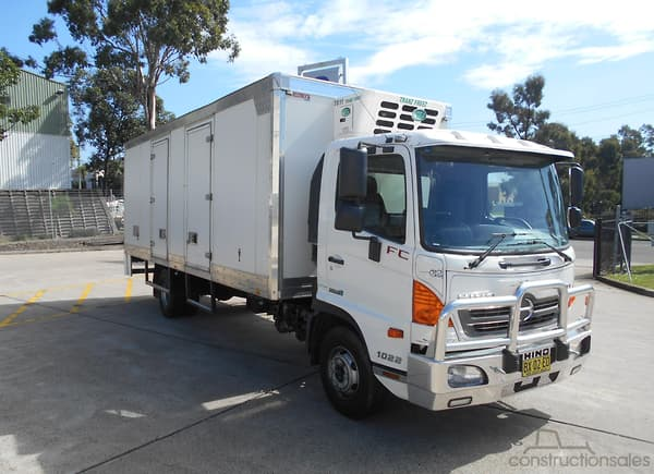 a3cd5f9ee8 Hino Refrigerated Truck Trucks for Sale in Australia -  constructionsales.com.au