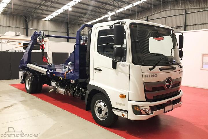 Hino Hooklift & Bi Fold Trucks for Sale in Australia